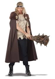 Viking Halloween Costume Warlord Cape