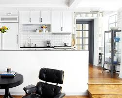 small tile backsplash in kitchen dress your kitchen in style with some white subway tiles