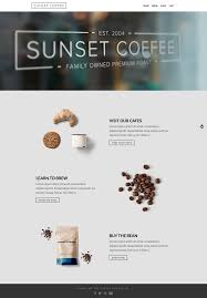 sunset coffee layers woocommerce theme by obox themeforest
