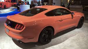 a pink mustang pink 2015 ford mustang