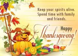 keep your spirits alive spent time with family and friends happy