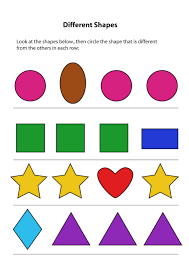 Preschool Worksheet Same And Different Worksheets For Kids Activity Shelter Kids