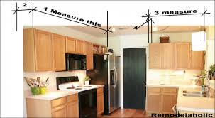 kitchen cabinets without crown molding measuring for crown molding copy making cabinets higher with molding