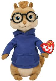 amazon com ty beanie baby simon alvin and the chipmunks toys
