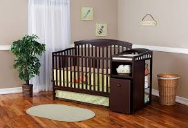 Simmons Convertible Crib by Baby Crib With Changing Table Attached Grey U2014 Thebangups Table