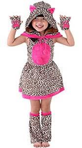 Leopard Halloween Costumes Girls Amazon Lovely Leopard Jungle Cheetah Animal Girls Halloween
