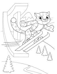 coloriage ski  maturemilfme