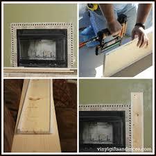 super saturday crafts fireplace remodel