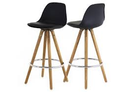 tabouret chaise de bar chambre tabouret de bar pied bois chaise haute de bar blanche en