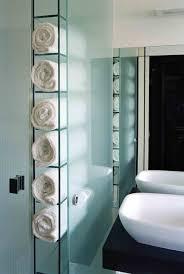 towel storage ideas for bathroom built in towel storage sewing kit master bath