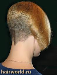 bobbed haircut with shingled npae short inverted bob style w clipper cut nape short hair