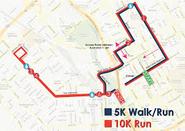 Map Your Run 10k U2013 Turkey Trot