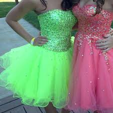 37 off dresses u0026 skirts short lime green prom dress from