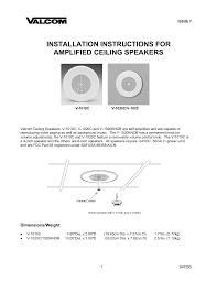 download free pdf for valcom v1020c speaker manual