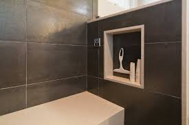 bathroom niche ideas built in niche ideas bathroom modern with shower bench built in
