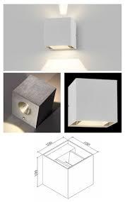 Adjustable Wall Lights Innovalight Indoor 2 5w Led Cube Wall Light Adjustable Wall