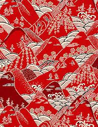 style fabric design koi motif on behance design
