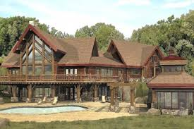 cabin home designs custom log home plans large log cabin home floor plans custom log