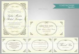 Wedding Invitation Sets 10 Wedding Invitations Sets By Constantine80 Graphicriver