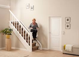 flow2 curved stairlift with asl techonology