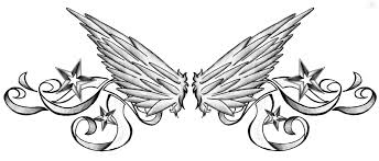 nautical star sword with wings tattoo design photo 2 photo