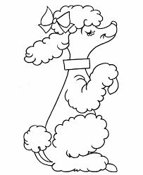 coloring pages pre k kids coloring pages pre k coloring pages french poodle pre k