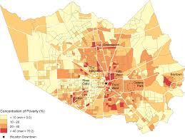 Map Houston These Charts Show Poverty U0027s Startling Spread Across Houston U2013 The