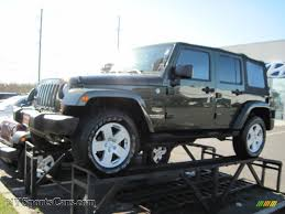 grey jeep rubicon 2007 jeep wrangler unlimited sahara 4x4 in jeep green metallic