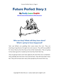 printable short story and worksheets to practice the english best