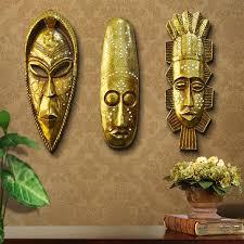 wall masks retro resin decorative mask wall hanging
