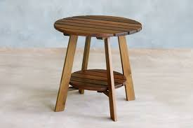 Adirondack Bar Stools Adirondack Small Outdoor Patio Table Handmade Teak U2013 Masaya U0026 Co
