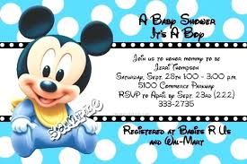 baby mickey mouse baby shower baby mickey mouse invitations mounttaishan info