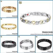 bracelet health magnetic images China wholesale stress relief titanium bracelet bio magnetic jpg