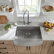 stainless steel apron sink pekoe 30x22 inch stainless steel apron sink american standard