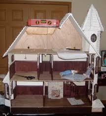Build Blog by Custom Styled Dollhouse Kits Mckinley Dollhouse Build Blog Roof