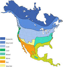 america climate zones map america 7 continents 1 globe