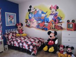 Mickey Mouse Room Decor Cute Mickey Mouse Bedroom Theme Decor For Kids