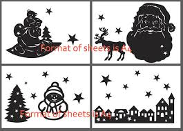 Commercial Christmas Window Decorations by Papercut For Window Christmas Papercut Templates Christmas