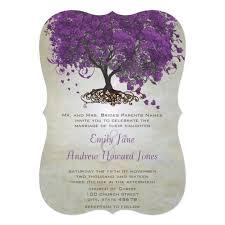 Tree Wedding Invitations Tree Wedding Invitations