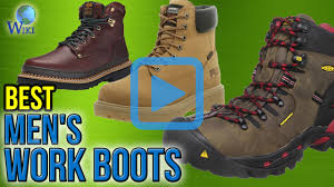 top 10 men u0027s work boots of 2017 video review