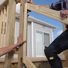Stair Banisters And Railings How To Build A Deck Wood Stairs And Stair Railings