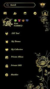 Gold Rose Free Go Sms Gold Rose Theme Android Apps On Google Play