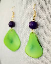 eco friendly earrings 63 best acai tagua jewelry images on seeds beaded