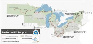 Rockford Michigan Map by Advocacy North Country Trail Association