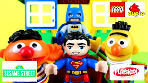 sesame street halloween background toy review for kids bert u0026 ernie playskool sesame street with