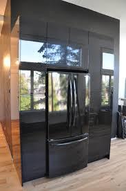 High Gloss Black Kitchen Cabinets Lofty Ideas 9 The Neat Blog