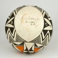 Native American Wedding Vase Pueblo Native American Wedding Vase Art Pottery By Eliz Waconia
