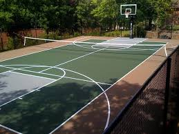 residential backyard courts for newton southborough and weston