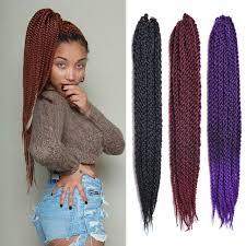 ombre senegalese twists braiding hair 3d ccubic twist crochet braids hair senegalese twist hair purple