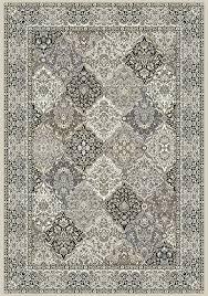 ancient garden 57008 9696 cream grey area rug by dynamic rugs